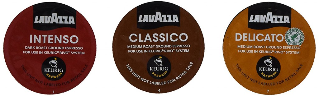Lavazza pods for rivo