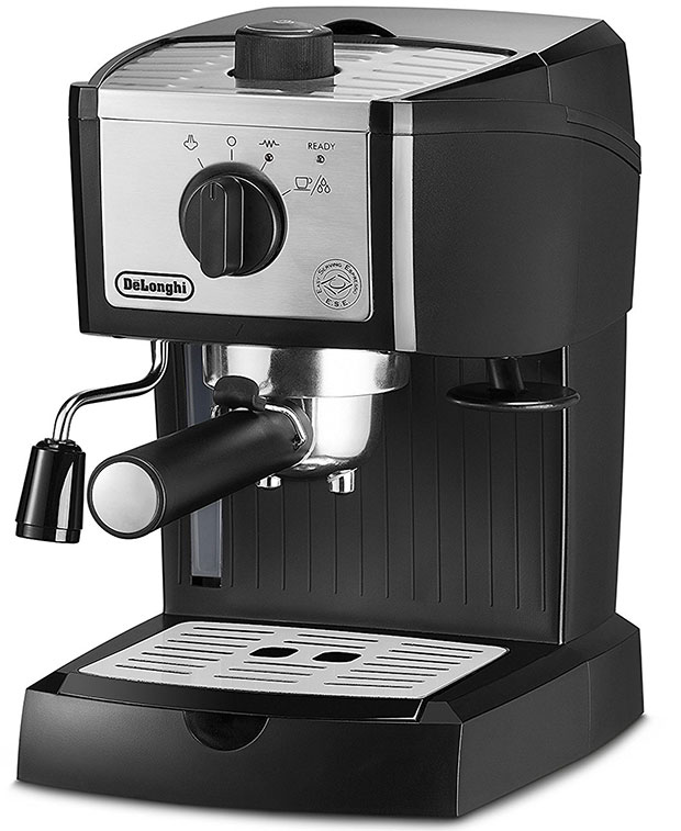 DeLonghi EC155M Manual Espresso Machine Cappuccino Maker