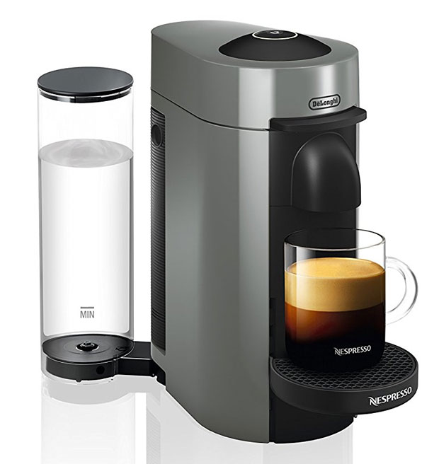 DeLonghi Nespresso VertuoPlus ENV150GY Coffee and Espresso Maker