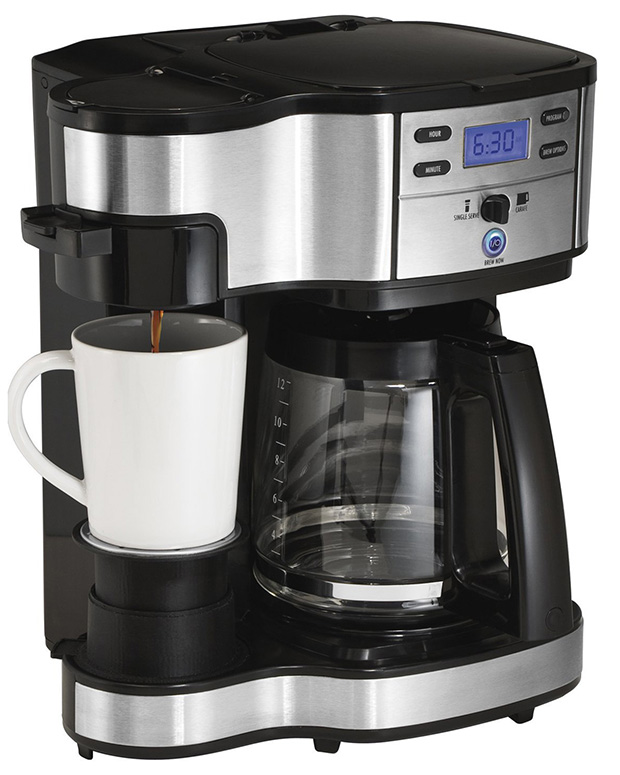 Hamilton Beach 49980A Single Serve and Full Pot Coffee Brewer