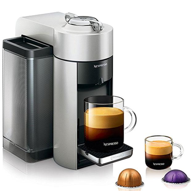 Nespresso Vertuo Evoluo Coffee and Espresso Machine by De'Longhi