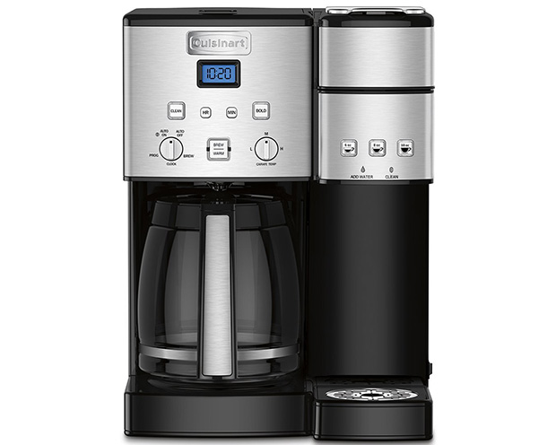 Cuisinart Coffee Center SS-15 12-Cup Coffee Brewer with Peet's Coffee Dash Button