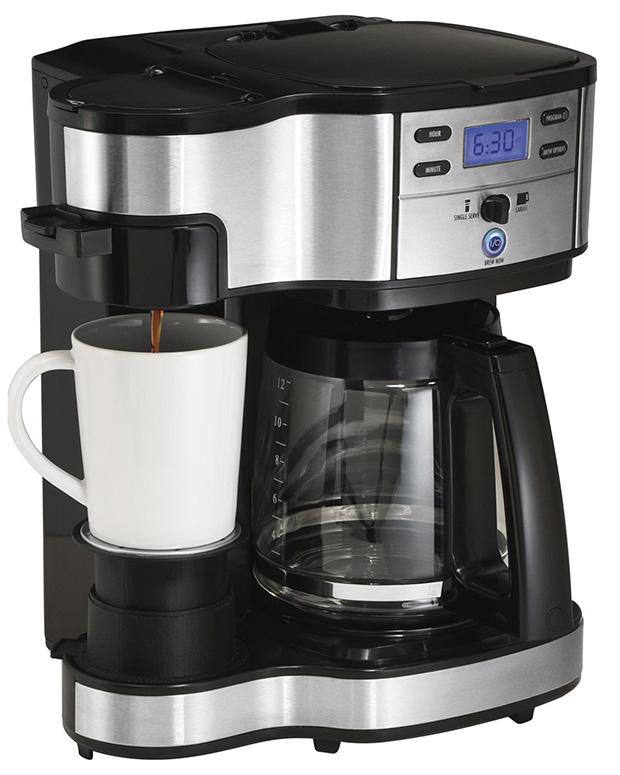 Hamilton Beach 49980A Single Serve and Full Pot Coffee Brewer