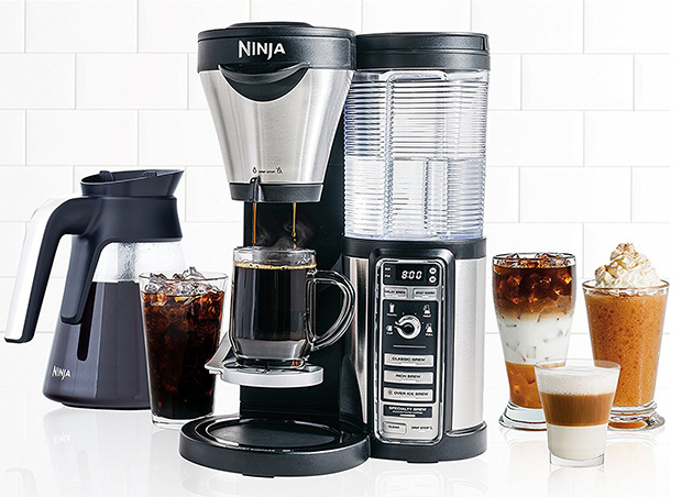 Ninja Coffee CF080Z Bar Brewer with Glass Carafe